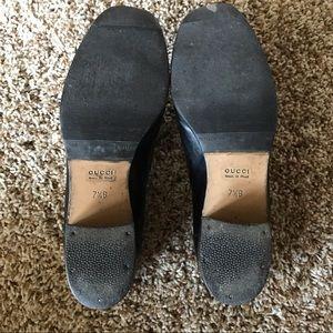Gucci Shoes - Black Gucci Horsebit Loafters Vintage Authentic